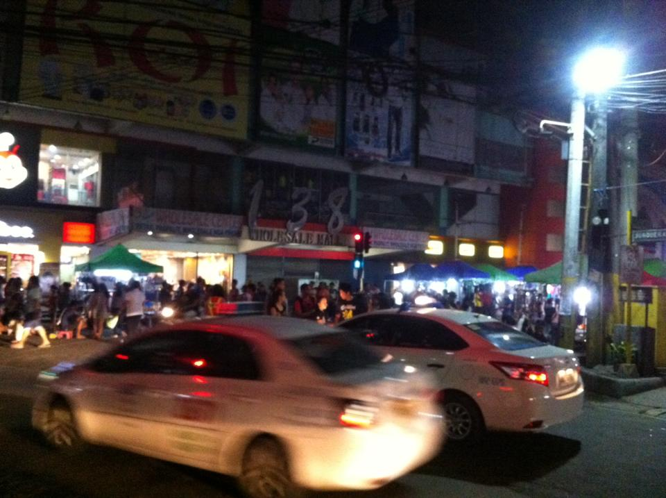 Night Market in Colon Street Cebu City