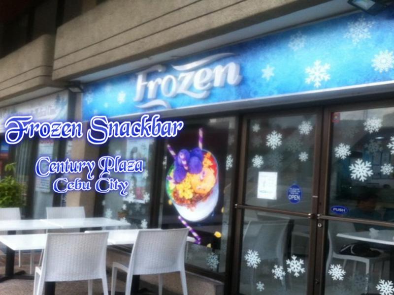 frozen snackbar
