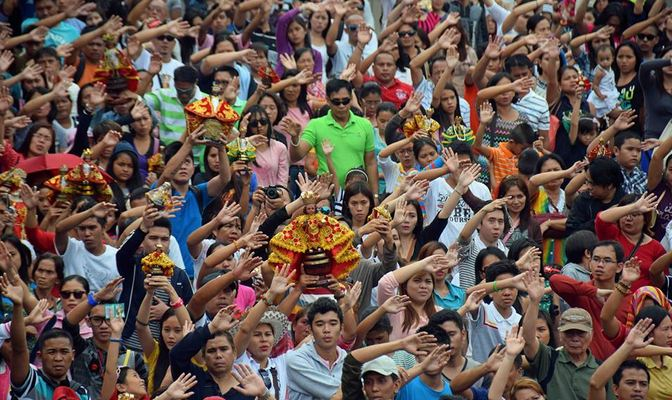 sinulog crowd