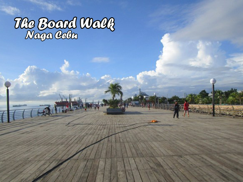 the boardwalk naga cebu