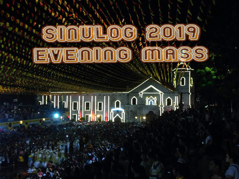 sinulog 2019 evening mass