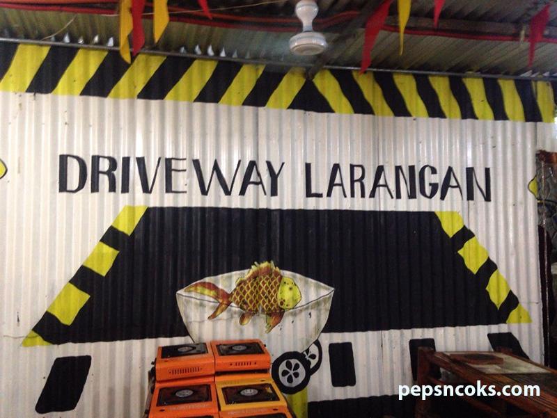 driveway larangan
