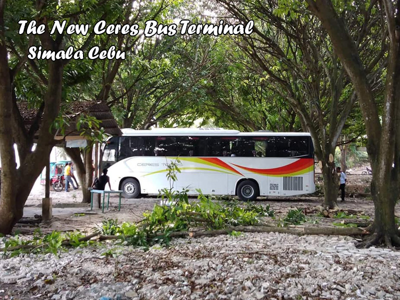 The New Ceres Bus Terminal in Simala