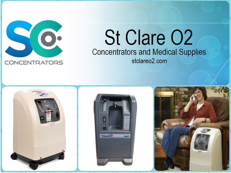 st clare o2 medical equipment