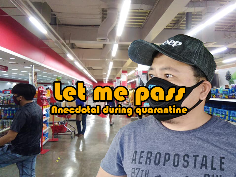 let me pass extended quarantine anecdotal