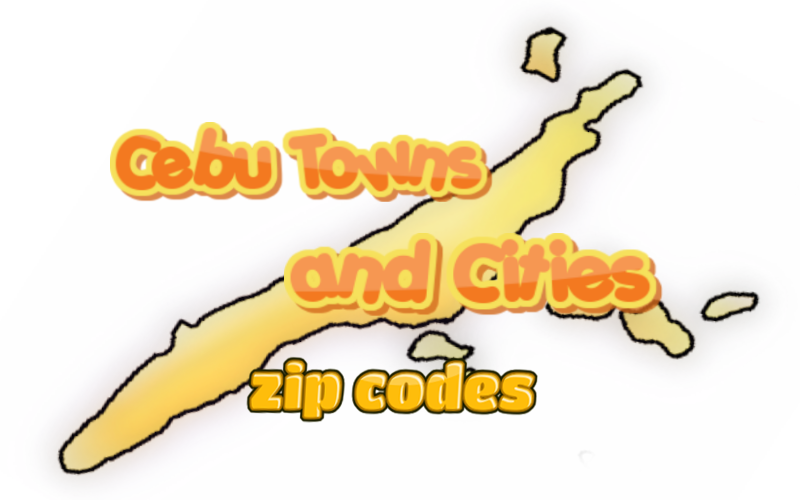 cebu city and provinces zip codes