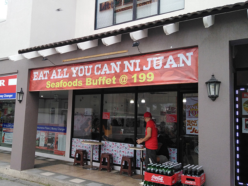 Eat all you can ni Juan