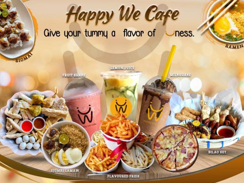 happy we cafe catmon