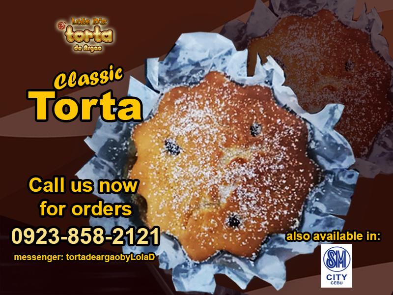 Lola D's Torta de Argao