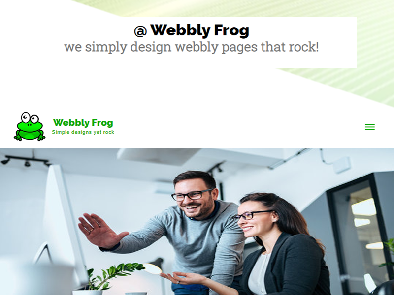 webbly frog